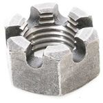 Terex 24246 Front Axle Slotted Hex Castle Nut 1.25-7 Coarse Thread