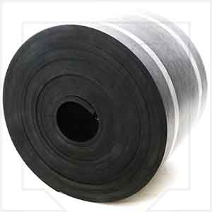 Concrete Plant Conveyor Skirtboard Rubber 3/8-Inch Thick x 10-Inches Wide