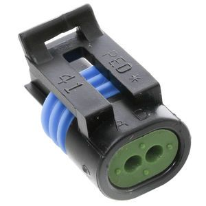 Aptiv 12162193 2-Position Female Black Connector Assembly 150.2 Series
