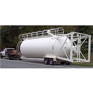 350 BBL Cement Or Fly Ash Silo with All Standard Equipment
