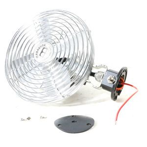 ACC Climate Control 182877075 Two Speed 12V Dash Fan with Switch
