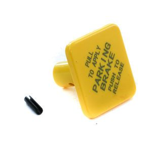 Automann 170.248433 Parking Break Knob and Pin - Yellow