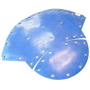 Con-Tech 730400 Standard Urethane Charge Hopper Liner