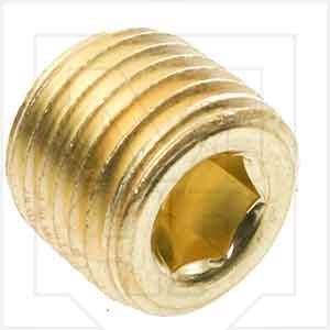Pressure Connections Corp 316204 1/4in Hex Plug
