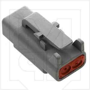 Deutsch DTM06-2S DTM 2 Way Plug
