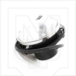 Auto Resolution 33-1503-01 Round Headlight Assembly