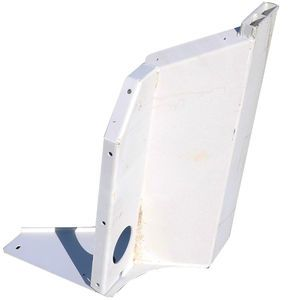 Con-Tech 205055 Aluminum Dovetail Fender Support - LH