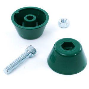 CBMW 80412125 Rear Control Knob Kit-Green