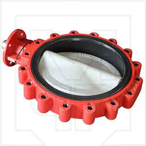 Bray 311800-11010390 18in Lug Style Plant Butterfly Valve