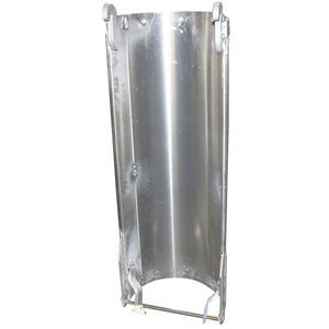 Oshkosh 1138121 Unpainted Aluminum Extension Chute with Liner Aftermarket Replacement