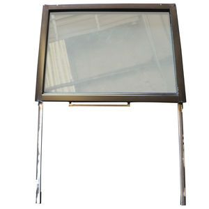 1340168 Cab Side Glass Window and Frame Assembly Aftermarket Replacement