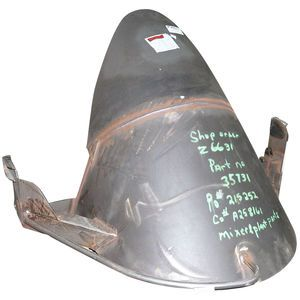 Terex 24139 Air Charge Hopper Without Cylinders