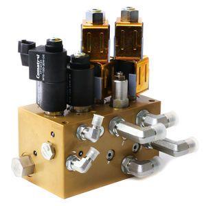Danfoss 11245974 Hydraulic Chute Block Manifold Assembly