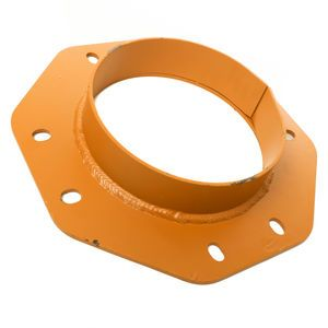 Stephens C10 Cement Silo Boot Shroud Flange for 10in Bray Butterfly Valve