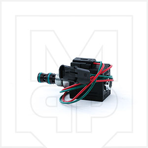 Con-Tech 760028 Chute Solenoid Valve With Coil and Plug