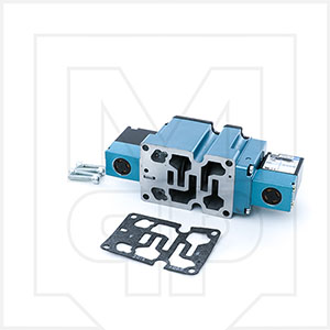 Mac 6333D-000-PM-111DA Double Solenoid Valve Without Base