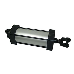 400BB2MAU14A7000 4x7 Air Cylinder with RC-07 Clevis and (2) P-07 Pins