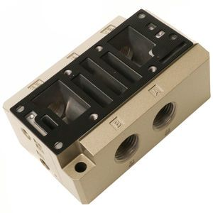 SMC SPF0471-04 Electric Over Air Valve Subplate - 1/2 Inch Stand Alone for PAV-5110