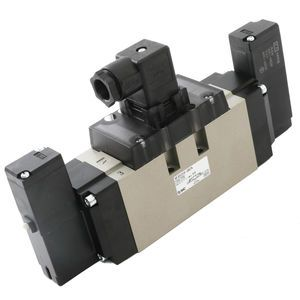 SMC NVFS5310-3DZA Double Solenoid Electric Over Air Inching Valve