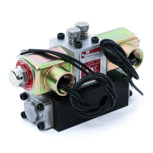AAA SY30 Electric Over Air Inching Valve 3/8 Double Solenoid