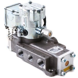 Parker Schrader Bellows L7053910253 Single Solenoid Electric Over Air Valve with Sub-Base