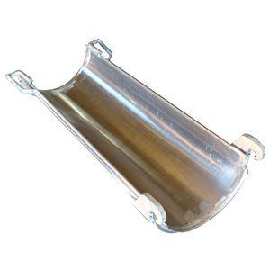 McNeilus 1107493 Aluminum Extension Chute-Unpainted