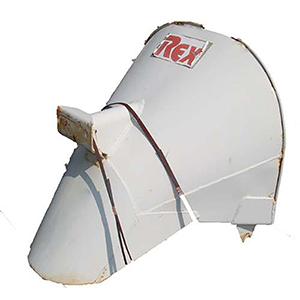Rex 502-09394-84 Charge Hopper With Liner