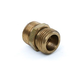 Adapter - 3/4 Male Truck Washdown Hose x 3/4 Male Pipe Adapter - Brass
