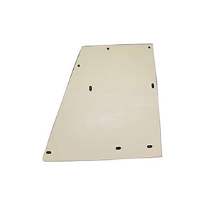 Oshkosh Right Hand Plastic Deck Plate Aftermarket Replacement