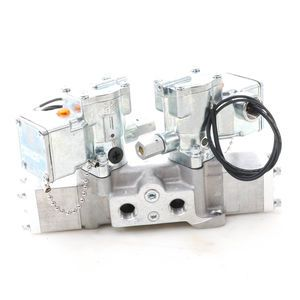 Schrader Bellows Double Solenoid Electric Over Air Inching Valve with Sub-Base