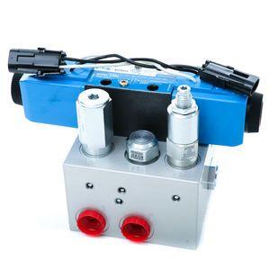 CBMW Hydraulic Chute Block Assembly Manifold - Double and Single Acting