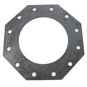 Cement Silo Flat Straight Flange for 12 inch Bray Butterfly Valve