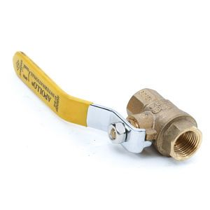Apollo 94A10201 Brass 3/8 Inch Ball Valve - 2 Piece FNPT