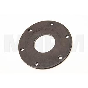 Putzmeister 242574006 Rubber Seal Disc - 60mm Shaft 140x56x8 LK120 6LD10