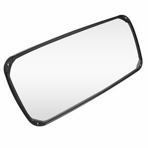 Automann 563.2101 8x17 Black Plastic Heated Mirror