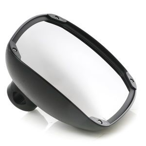Automann 563.2102 8in x 8.5in Black Composite Convex Mirror