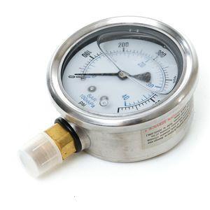 201L-254K Pressure Gauge 0-600 psi