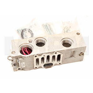 Parker K142230 Schrader Bellows 3/8 Inch Sub-Base Manifold for L665 and L675 Series Valves