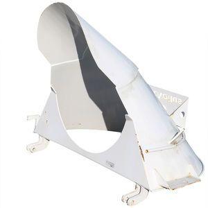 Con-Tech 215346 Charge Hopper - 46 Paver Drop