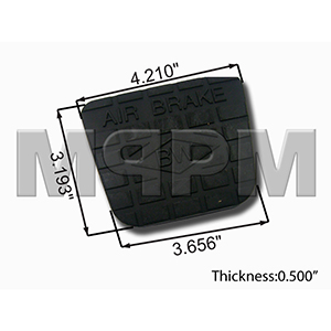 Cover,Pedal Aftermarket Replacement
