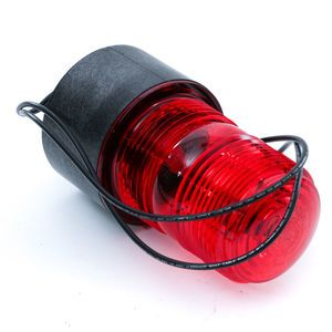 R and S Loadcraft 900137-004 Plant Silo Warning Light - Red