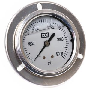 Span LFP224-3000-PSI-G-JIC Booster Cylinder Hydraulic Pressure Gauge 2.5in Aftermarket Replacement