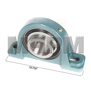 Dodge 126818 P2B-SCM-207 2-7/16in Plant Conveyor Pillow Block Bearing