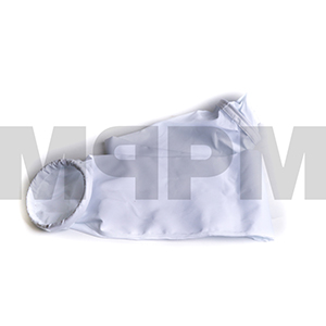 Plant Filter Bag 7in x 72.5in Long Taper Top, Snap Band Bottom
