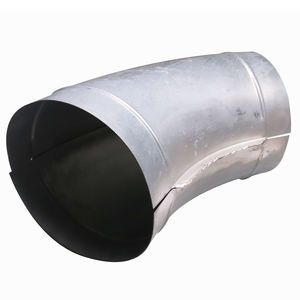C and W SP012 Spiral Duct Pipe 45 Degree Elbow 10in