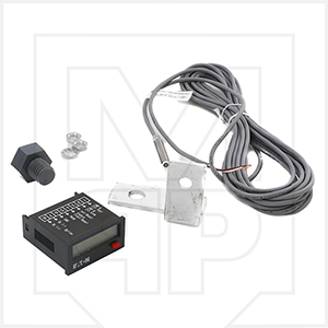 McNeilus 1429581-AK Digital Drum Counter with Proximity Switch and Bracket Kit Aftermarket Replacement