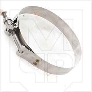 Cement Hose Clamp for Clamping 4in Hoses to Cam and Grove Couplings with Barb Fittings