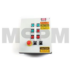 Radial Stacker 4-Function Remote Transmitter with Receiver and Manual Control Panel