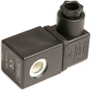 Turbo ULBH10 110/60 Solenoid Coil with MPM B-12 DIN Connector
