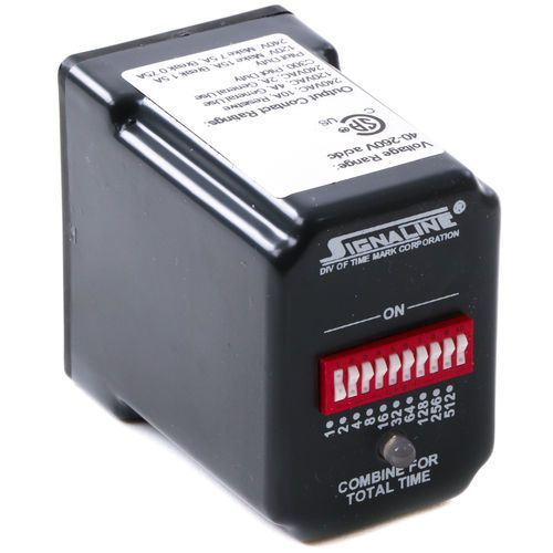 Time Mark Signaline 360-H-1MIN Operate Delay Relay Timer